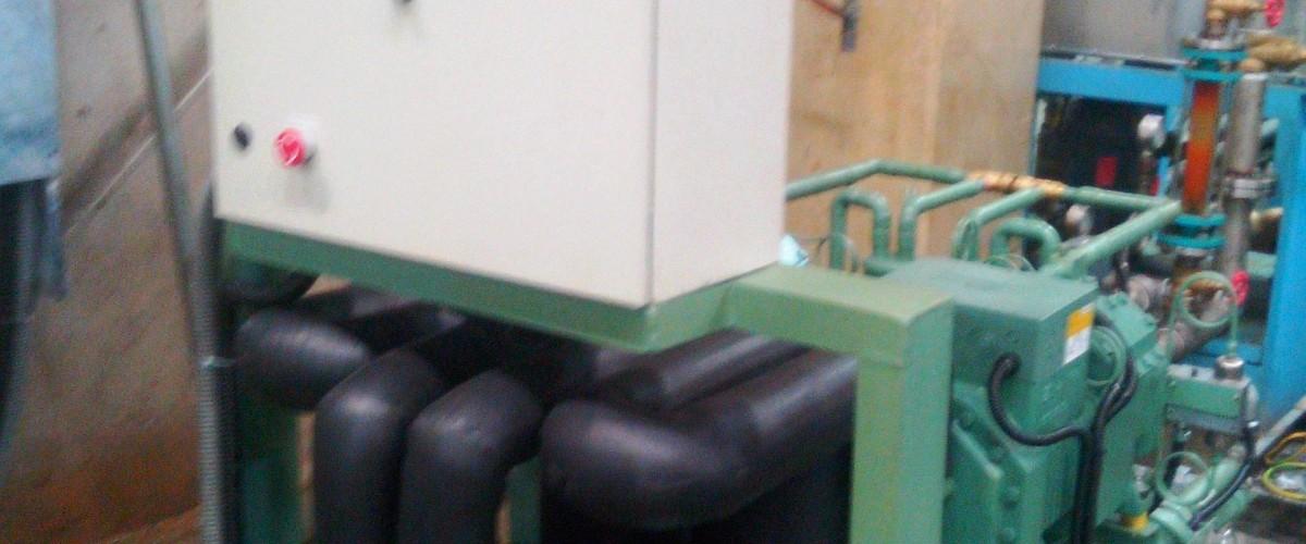Design, Pembuatan dan Instalasi Chiller Film Shaping Cap. 2 x 15 HP